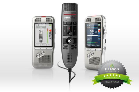 Philips Pocket Memo und SpeechMike Premium (Photo: Business Wire)