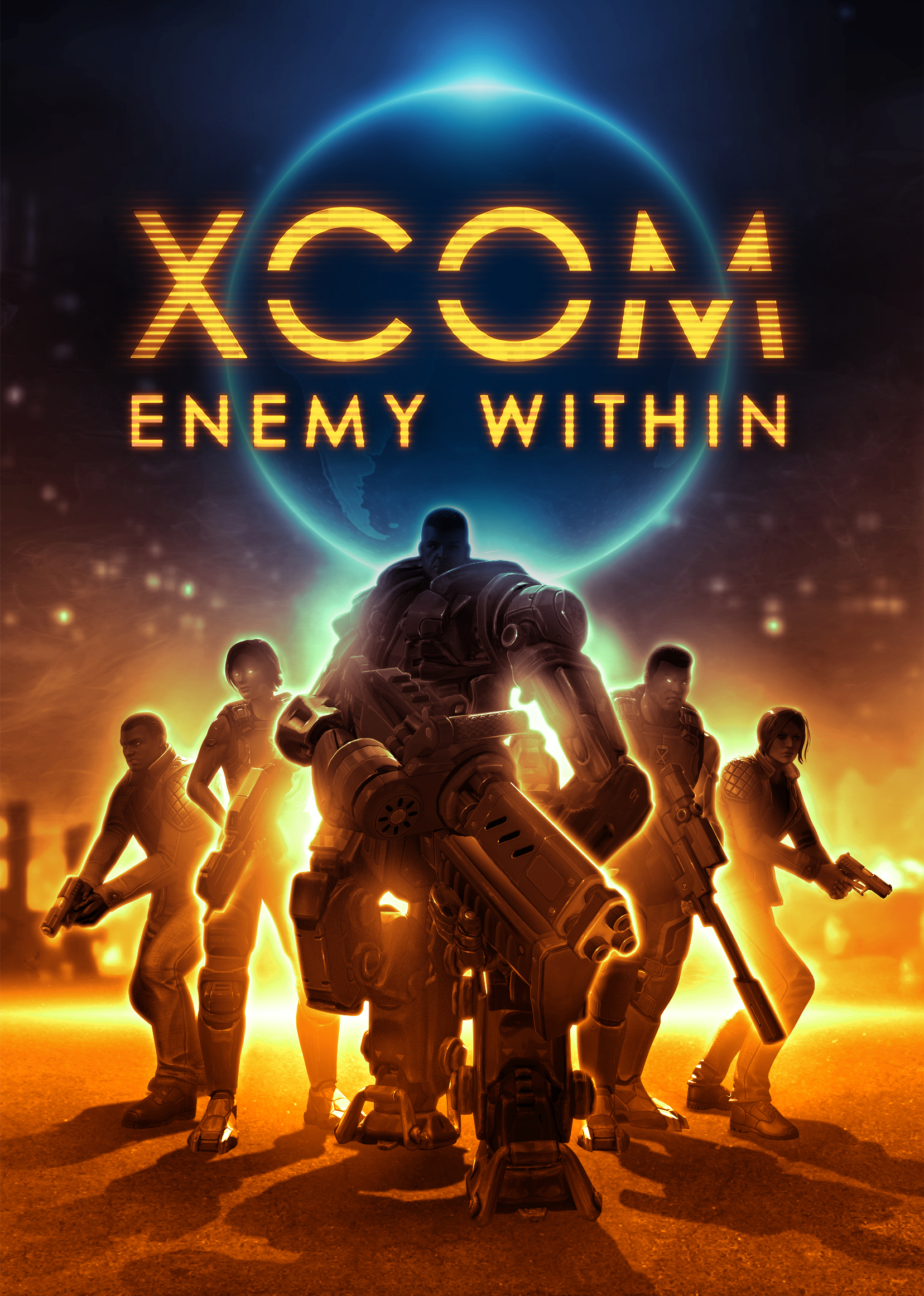 2K and Firaxis Games announced today that XCOM®: Enemy Within, the expanded experience for the Game of the Year* award-winning strategy title, XCOM: Enemy Unknown, is available today in North America and will be available internationally on November 15, 2013 for Windows PC, Xbox 360 games and entertainment system from Microsoft and PlayStation®3 computer entertainment system. (Graphic: Business Wire)