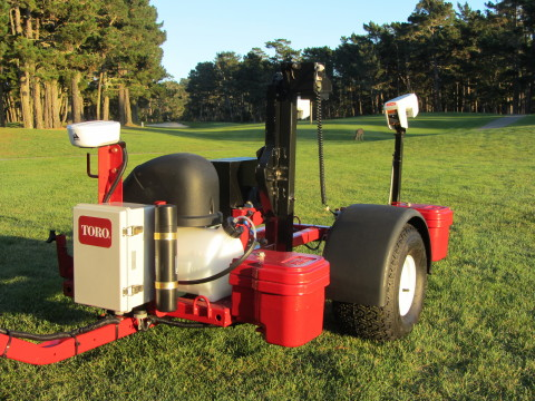 Toro's PrecisionSense site assessment solution helps measure soil moisture, salinity, compaction and ...