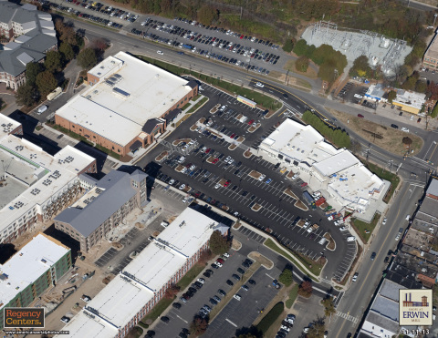 Sky view of the Shops at Erwin Mill. (Photo: Business Wire)