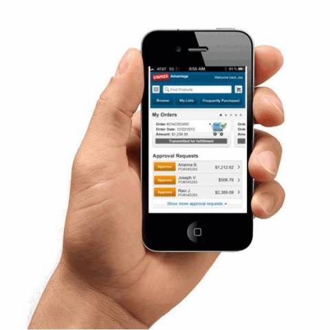 The new mobile app from Staples Advantage(R), the business-to-business division of Staples, Inc., le ...
