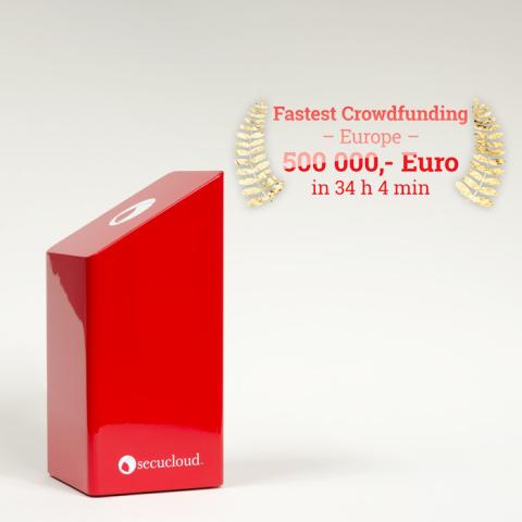 Crowdfunding-Rekord: Secucloud so schnell finanziert wie kein anderes Startup in Europa (Foto: Busin ...