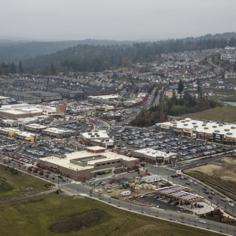 Sky view of the new Grand Ridge Plaza (Photo: Business Wire)