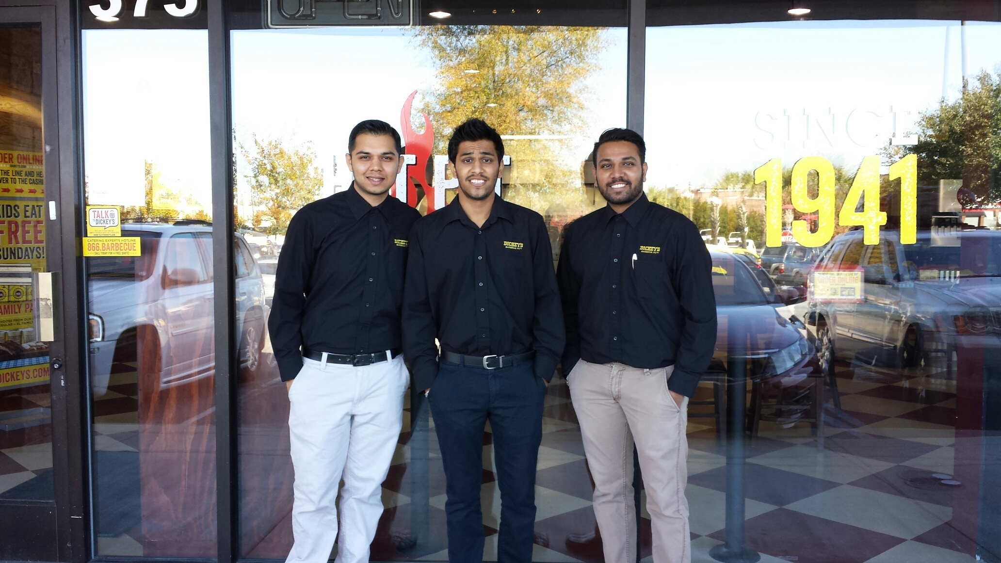 Vedit, Ankur and Dixit Patel (Photo: Business Wire)