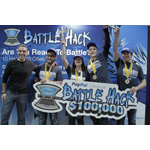PayPal President David Marcus with Battle Hack World Finals winners Team Moscow (Photo: Business Wire)