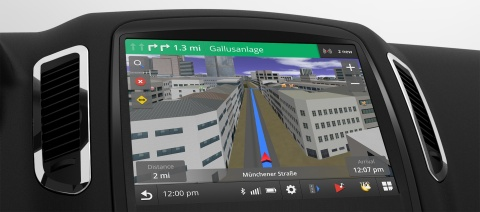 Performance advancements in Garmin's new Gemini navigation core allow for the integration of realist ...
