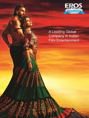 Eros International Plc and Sanjay Leela Bhansali's Goliyon Ki Rasleela Ram-Leela Storms the Box-Office (Photo: Business Wire)