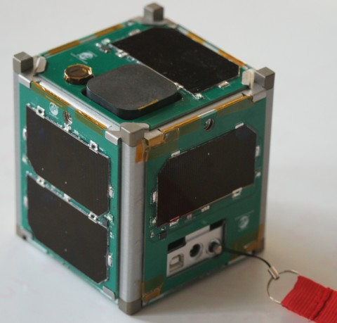 Vermont Technical College's CubeSat (Photo: Business Wire)