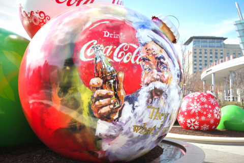 As part of its holiday celebration, the World of Coca-Cola is bringing back its life-sized holiday o ...