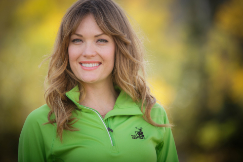 World champion snowboarder Amy Purdy joins The Hartford's team of athlete ambassadors. (Photo: Business Wire)