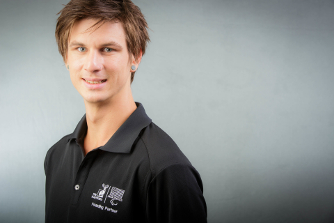 World champion snowboarder Evan Strong joins The Hartford's team of athlete ambassadors. (Photo: Business Wire)