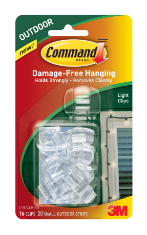 Command Outdoor Light Clips (Photo: Business Wire)