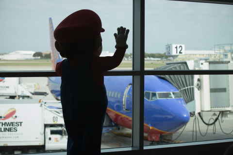 Mario is planning a holiday surprise for Southwest Airlines Customers (Photo: Business Wire)