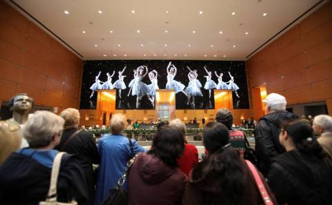 A scene from The Comcast Holiday Spectacular featuring Pennsylvania Ballet. (Photo: Business Wire)