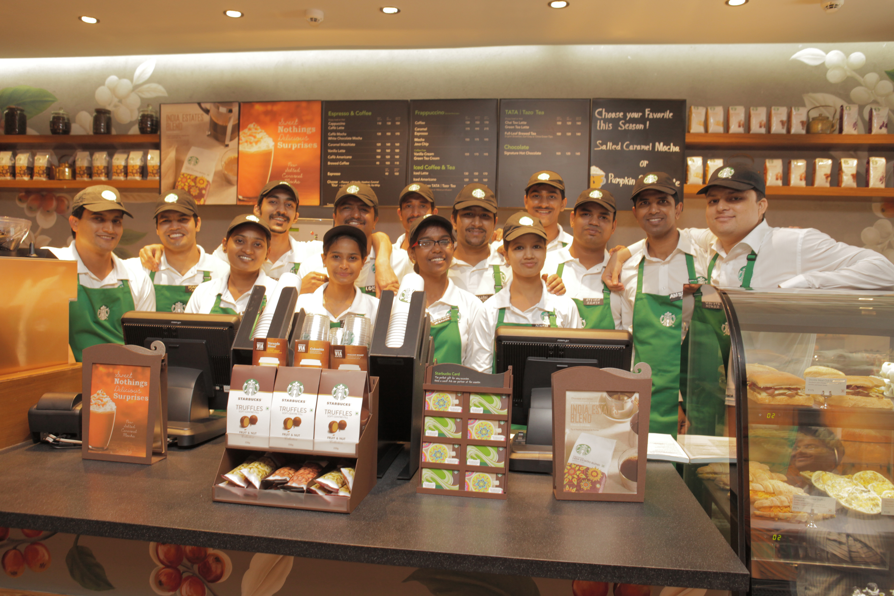 Starbucks Continues Expansion in India with the Opening of the ...