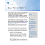 About Otsuka Pharmaceutical Co., Ltd.