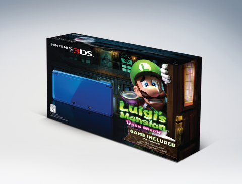 Nintendo 3DS Luigi's Mansion: Dark Moon bundle (Photo: Business Wire)
