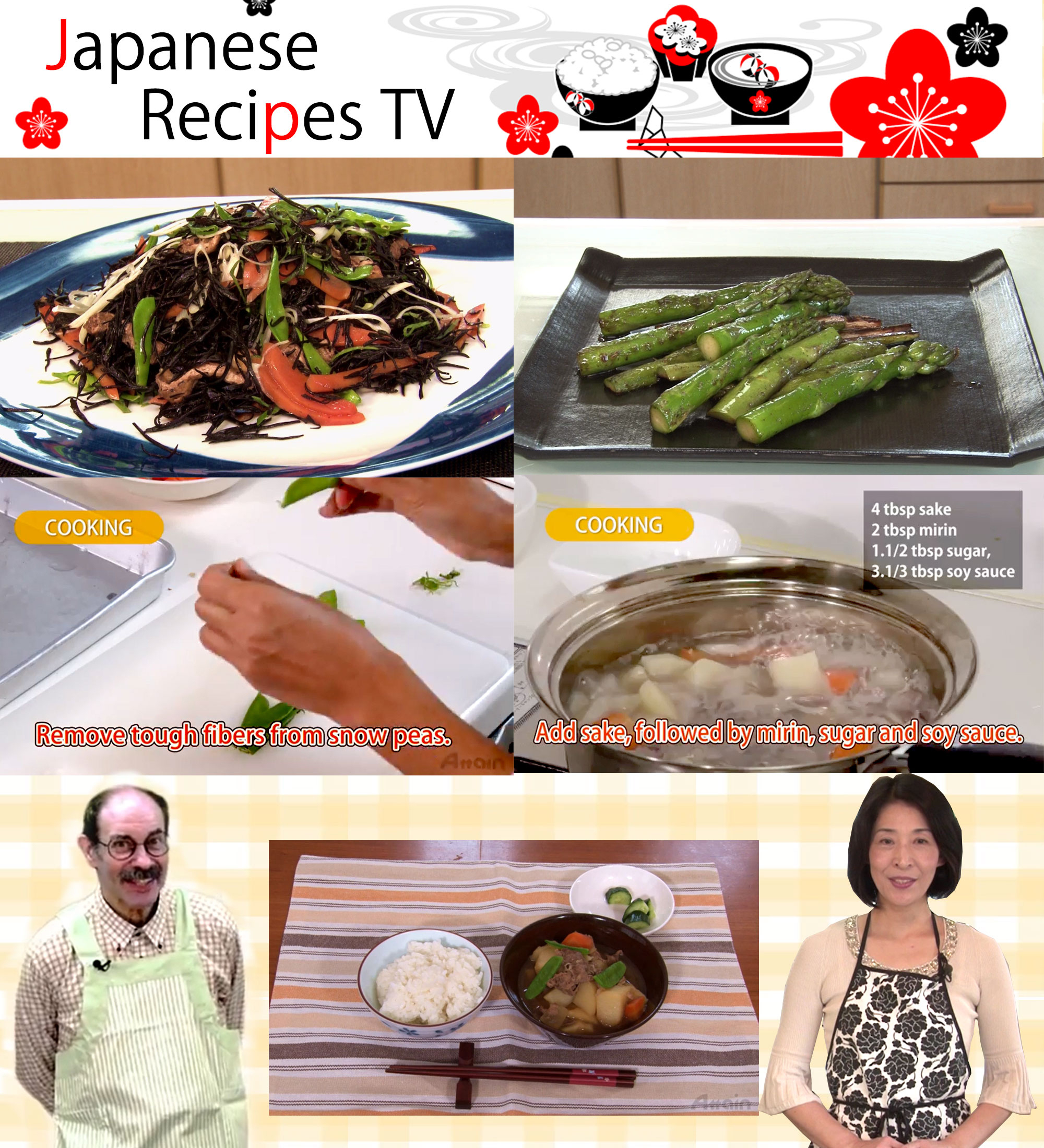 Attain co starts online channel japanese recipes tv business wire forumfinder Image collections