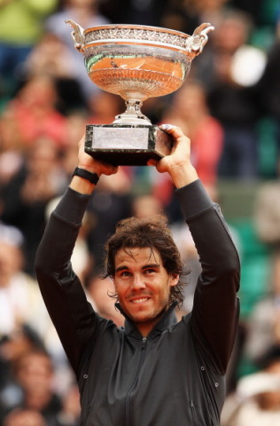 Rafa Nadal, eight-time winner of Roland Garros, the French Open tennis Grand Slam (Photo: Business W ...