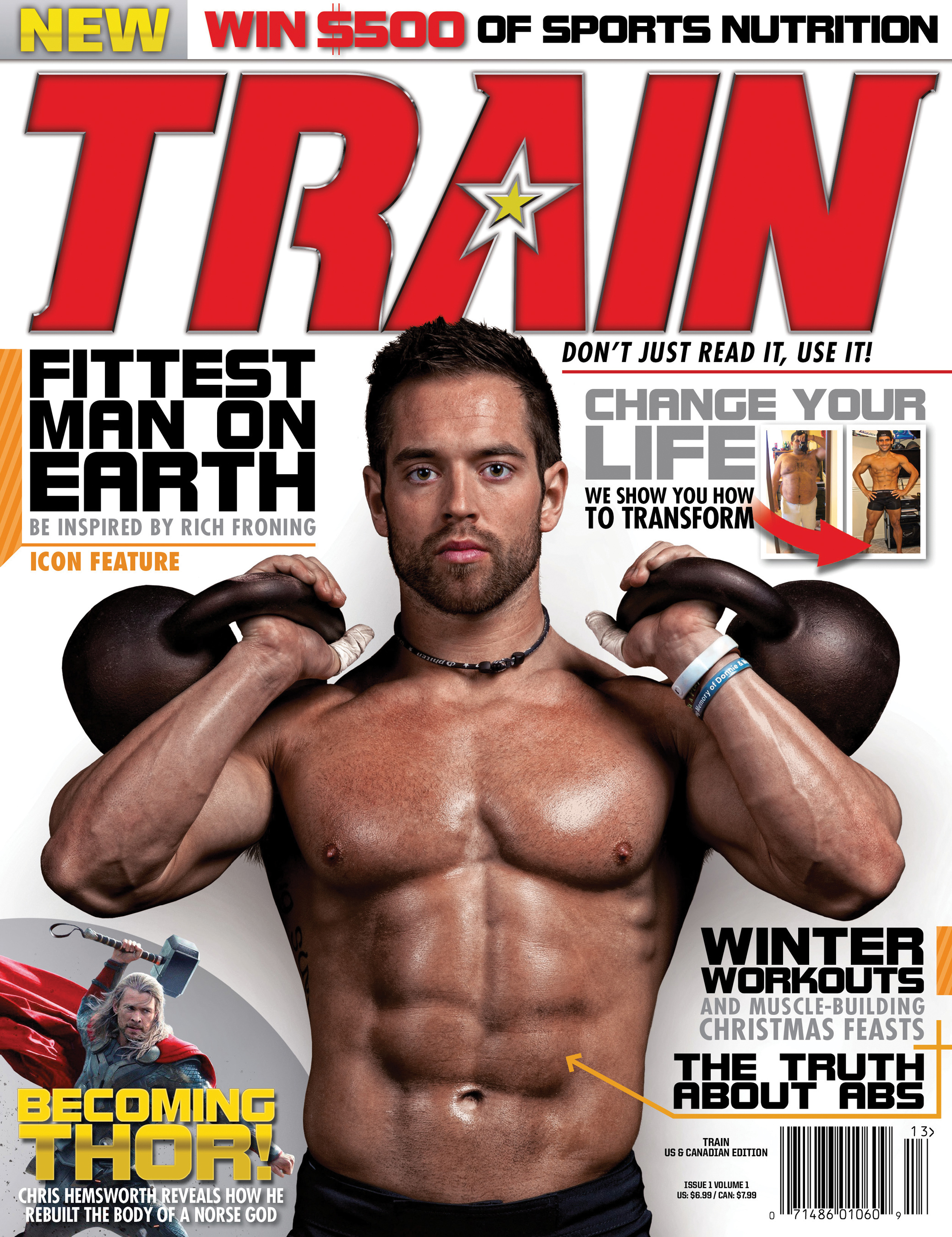 Fighters Only And Bodybuilding Com Announce Exclusive Print Partnership With The Launch Of Train Magazine Business Wire