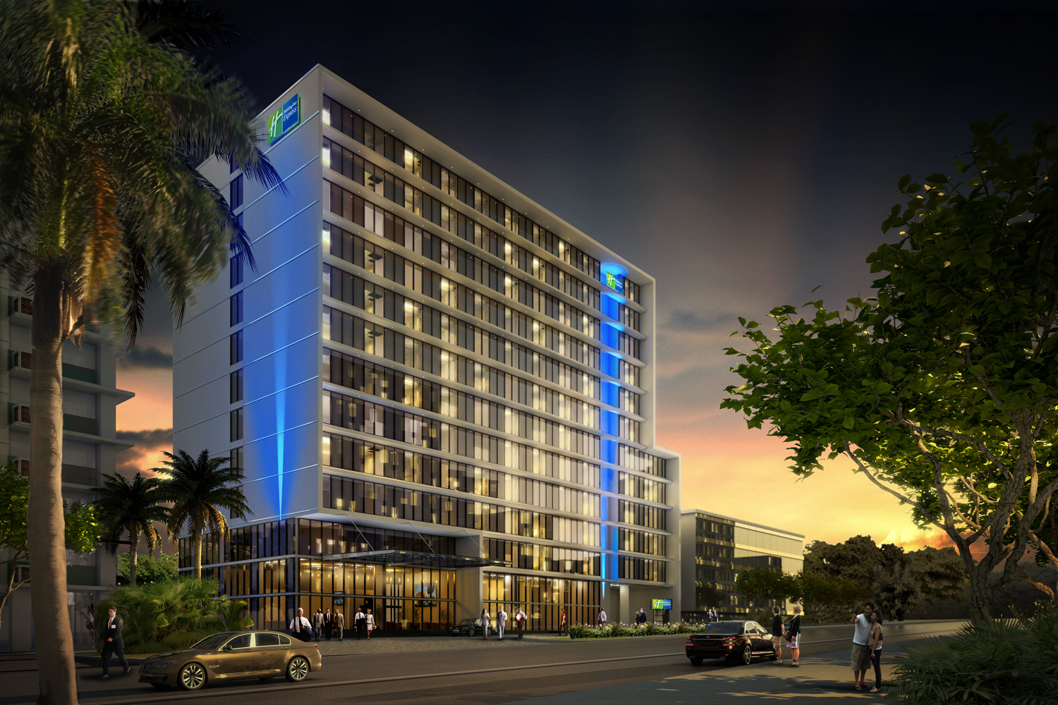 IHG opens its First Holiday Inn Express® hotel in Panama City, Panama (Graphic: Business Wire)