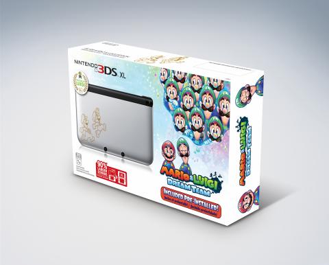 Nintendo 3DS XL Mario & Luigi: Dream Team bundle (Photo: Business Wire)