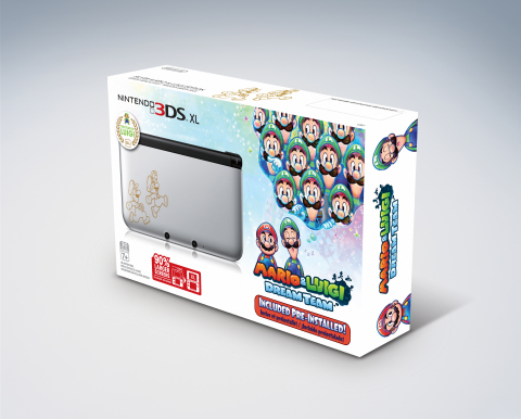 Nintendo 3DS XL Mario & Luigi: Dream Team bundle (Photo: Business Wire)