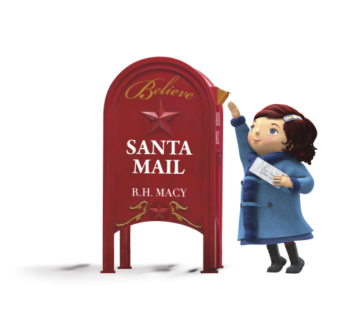 Mail your letter to Santa at Macy's on Dec. 6 and help deliver a special $1 million day for Make-A-Wish(R) in celebration of National Believe Day. (Graphic: Business Wire)