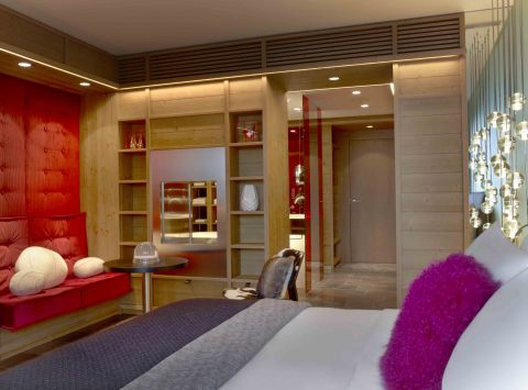 W Verbier Guest Room. (Photo: Business Wire)