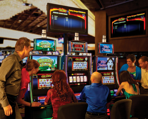 Bally Technologies' DM Tournaments is one of several unique bonusing apps that SLS Hotel & Casino wi ...