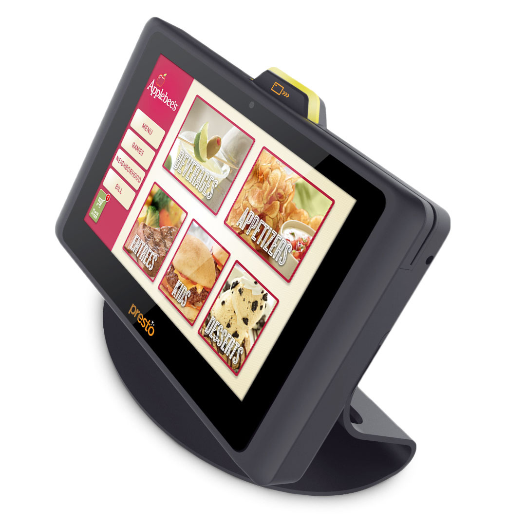 Applebee's is introducing 100,000 E la Carte Presto devices at its 1,860 U.S. restaurants - every table of every domestic restaurant - by the end of 2014. (Photo: Business Wire)