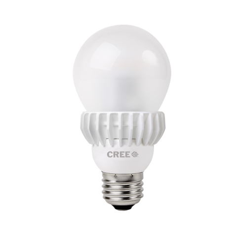 New 75-watt replacement Cree LED Bulb (Photo: Business Wire)