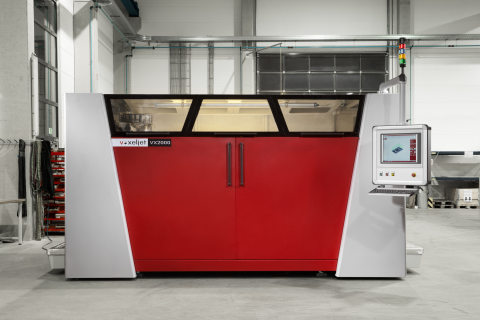 3D printer VX2000 (Photo: Business Wire)