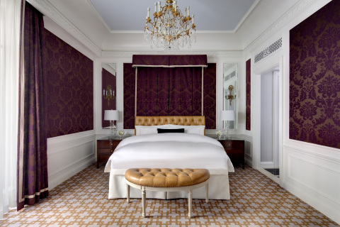 Renovated guestroom at The St. Regis New York (Photo: Business Wire)
