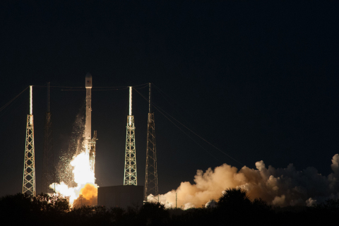 Launch Success for SES-8 Satellite on Board SpaceX/Falcon 9 (Photo: Business Wire)