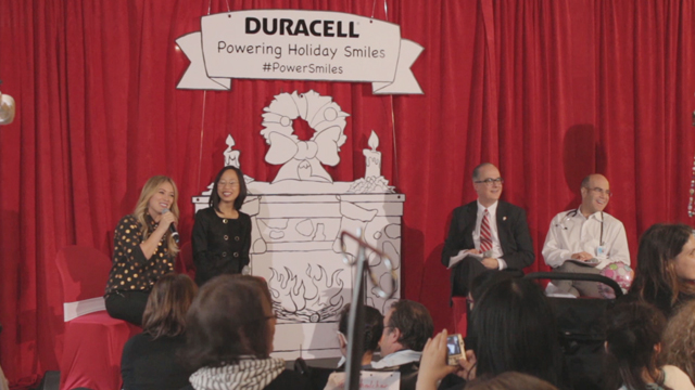 Duracell Holiday Launch Hilary Duff sound bite 2