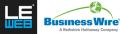Zusammenarbeit zwischen Business Wire und LeWeb'13 zum 7. Jahr in Folge