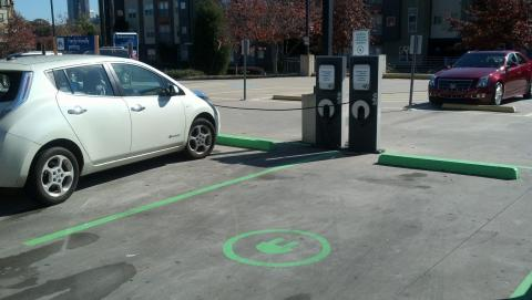 IKEA plugs-in 4 electric vehicle charging stations in Atlanta, GA. It is the 11th IKEA store in the U.S. to complete installation of units. (Photo: Business Wire)