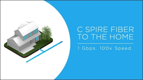Pre-registration began on Wednesday, Dec. 4 for residents in nine Mississippi cities who want C Spire's ultra-fast 1 Gbps Internet service in their homes. (Graphic: Business Wire)