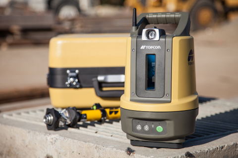 Topcon Positioning Group announces a new BIM solution – the LN-100 – the world's first 3D positioning system designed specifically for construction layout. (Photo: Business Wire)
