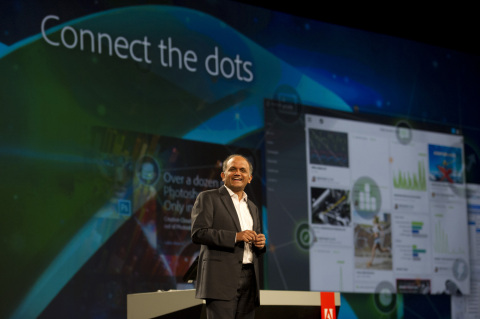 Adobe President and CEO Shantanu Narayen discusses the changing role of the chief marketing officer  ...