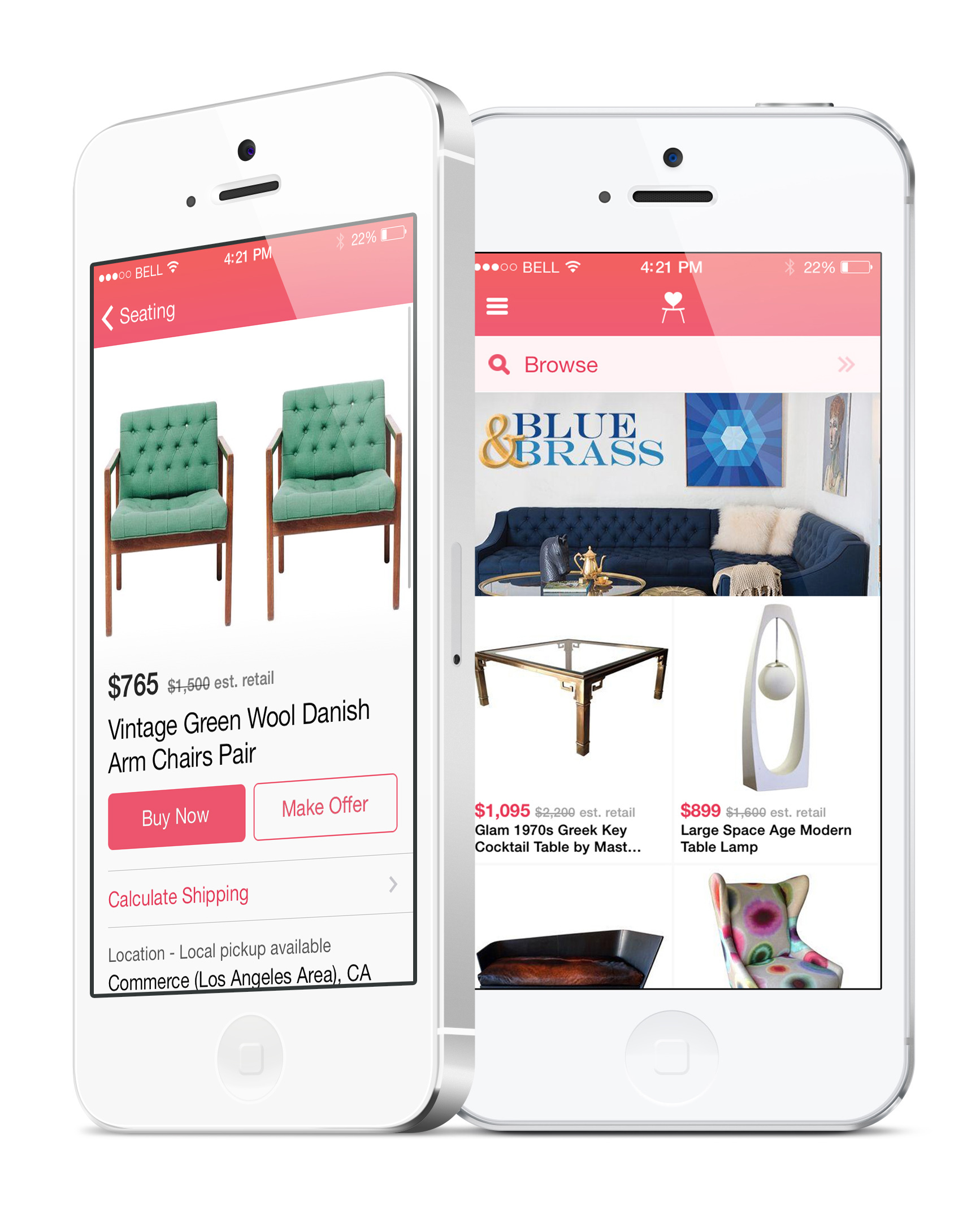 Chairish Launches First Mobile App That Lets You Shop Vintage from the  Comfort of Home | Business Wire