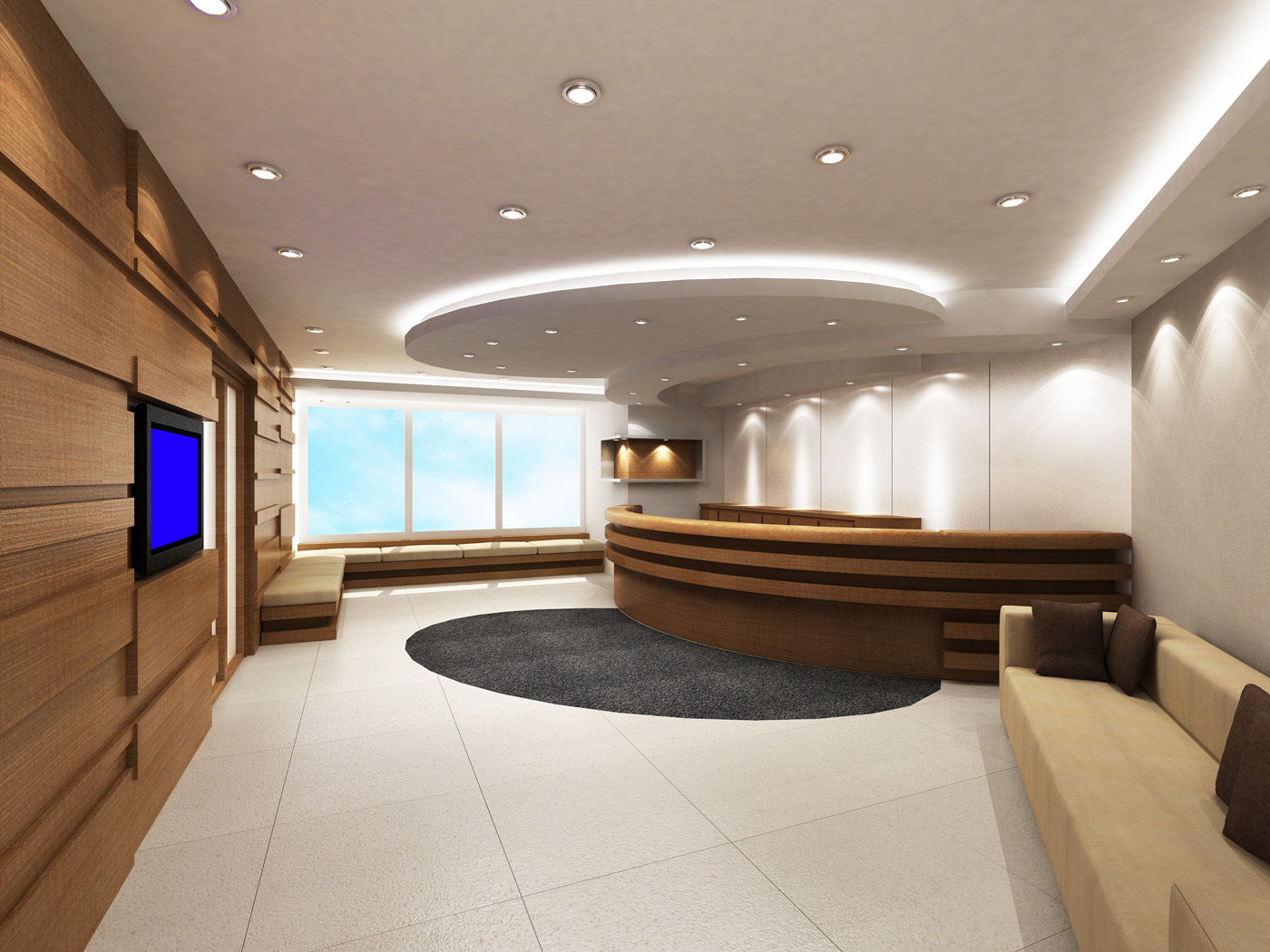 Ges lumination™ led downlights provide customizable lighting design