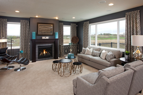 Spacious Floorplans by Ryland Homes in the Twin Cities (Photo: Business Wire)