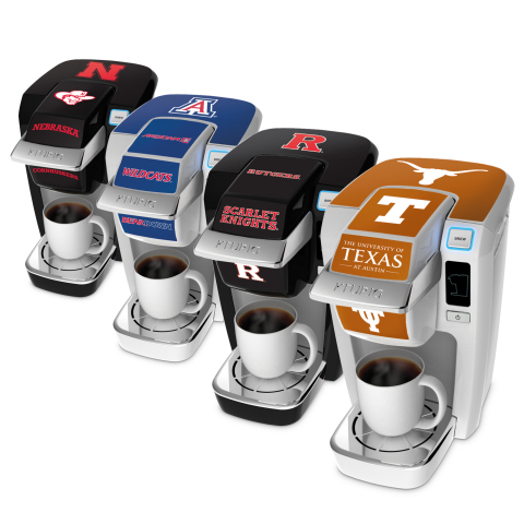 Keurig Launches Exclusive College-Branded K-Cup(R) MINI Plus Brewers and Decals for Students, Alumni ...