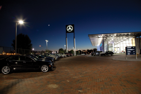 Mercedes-Benz of Fort Mitchell, with help from GE, is realizing its dream—an all-LED lighting facili ...