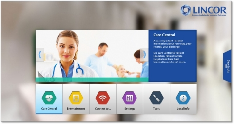 PatientLINC's easy to Use, intuitive interface(Photo Business Wire)