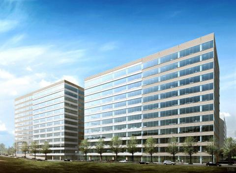 ExxonMobil in The Woodlands - Exterior Rendering (Photo: Business Wire)