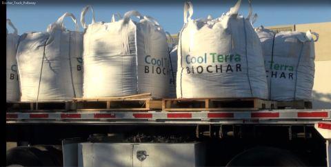 Cool Terra(tm) Biochar Production Volume shipment (Photo: Business Wire)