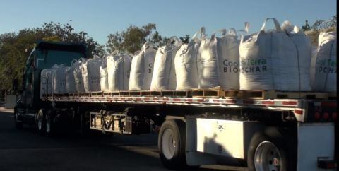 One of the First Cool Terra(tm) Biochar Commercial Production shipments (Photo: Business Wire)